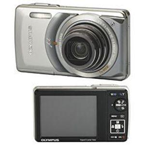 OLYMPUS(オリンパス) デジタルカメラ μ-7010 プレミアムキット シルバー