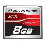 Silicon Power SP008GBCFC200V10 (コンパクトフラッシュ・8GB)