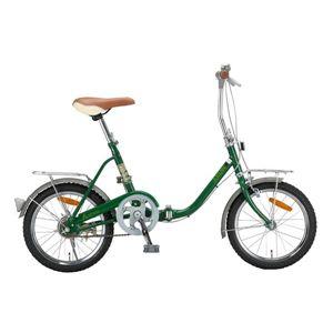 ARUN 折り畳み自転車 KY-16A モスグリーン