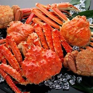 【数量限定!驚愕のプライス!】豪華三大蟹詰め合わせ