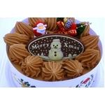 【12月8日で予約終了 2010年クリスマス向け】クリスマスケーキ チョコ5号 【12/21より順次発送】