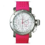 MAX XL WATCHES(マックスエックスエルウォッチ) ラバーベルト腕時計 5-MAX506 47ミリ ピンク