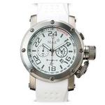 MAX XL WATCHES(マックスエックスエルウォッチ) ラバーベルト腕時計 5-MAX451 47ミリ ホワイト