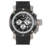 MAX XL WATCHES(マックスエックスエルウォッチ) ラバーベルト腕時計 5-MAX424 47ミリ ブラック×ブラック
