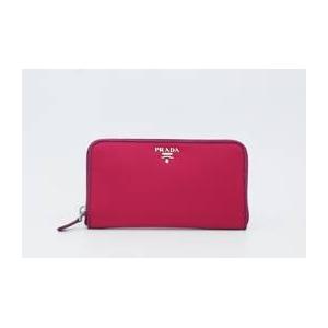 商品写真プラダ/PRADA ナイロン 長財布(小銭入れあり) ピンク/1MO0506 IBISCO+DALIA+SAFFIAN