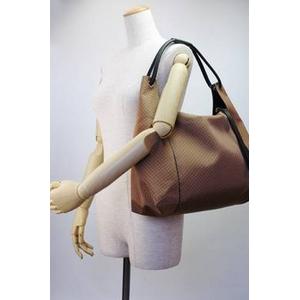 01GUCCI|グッチ PVCコーティング×カーフ|ショルダーバッグ