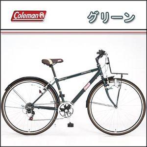 Coleman(コールマン) 27インチ 6段変速 クロスバイク CRB276 グリーン