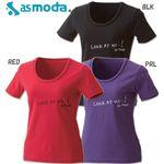asmoda(エーエスモダ)  GRAPHIC Tシャツ 9335-0412 PRL M