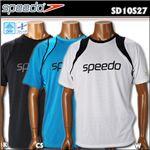 speedo(スピード) メッシュTシャツ SD10S27 K L
