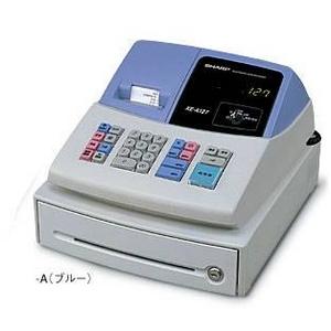 シャープ レジスター XE-A127-A ブルー レジロール紙20巻つき