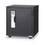 エーコー 耐火金庫 指紋照合式 MSFE-BW 55kg 【代金引換可能】【時間指定可能】
