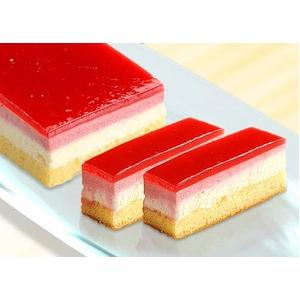 甘酸っぱいムースフランボワーズカットケーキ2本セット