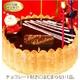 【12月16日で予約終了 2010年クリスマス向け】チョコのシャルロットケーキ
