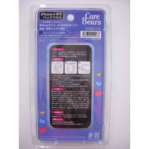 CareBears(ケアベア) iphone4専用 バックパネル 【2種セット】
