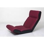 ツカモトエイム マッサージ座椅子(ヒーター付き) スイッチチェア プレミアム AIM-107 カシスレッド