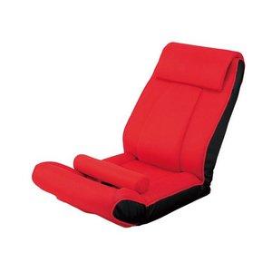 ツカモトエイム porto(ポルト) ボディアップチェア AIM-FN016 レッド (腹筋座椅子)