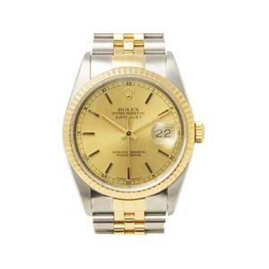 【中古A】ROLEX(ロレックス) 腕時計 デイトジャスト 16233 X番