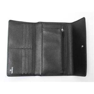 【現品限り】CHANEL(シャネル) 3つ折長財布 カメリア ブラック A46501  【未使用】
