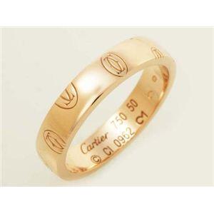 【現品限り】Cartier(カルティエ) ハッピーバースデーリング SM PG #50 ピンクゴールド 【中古A】