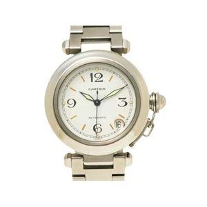 【現品限り】Cartier(カルティエ) パシャC 白文字盤 時計 ステンレススチール 文字盤:白 【中古A】