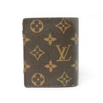 【現品限り】ルイヴィトン モノグラム ポルトフォイユ マジェラン 二つ折財布 M60045【中古B】