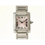【現品限り】Cartier(カルティエ) タンクフランセーズSM SS 160周年記念 アジア限定 【中古A】