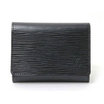 【現品限り】LOUIS VUITTON(ルイヴィトン) エピ 名刺入れ カードケース 黒 M56582 【未使用品】