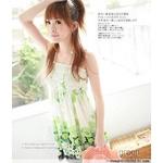 【C-Style】花柄シフォン系チュニック グリーンの詳細ページへ
