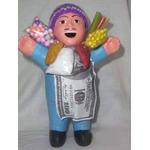 【ペルー産】伝説のエケッコー人形19cm ブルー(ミドルサイズ)の詳細ページへ
