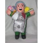 【ペルー産】伝説のエケッコー人形19cm グリーン(ミドルサイズ)の詳細ページへ