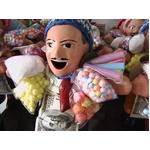 【ペルー産】伝説のエケッコー人形(エケコ人形) 約19cm(ミドルサイズ/M)