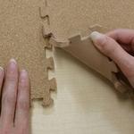 やさしいコルクマットレギュラーサイズ(30cm)144枚セット(約8畳) ジョイント マット