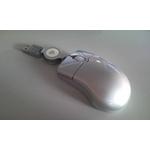 巻取りリール式 光学式マウス M-M2SV-2 シルバー 2個セット