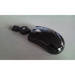 巻取りリール式 光学式マウス KM-M2BK-2 ブラック 2個セット