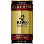 サントリー BOSS ゴールドプレッソ 190g缶 60本セット