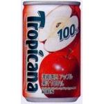 キリン トロピカーナ 100%フルーツ アップル 160g缶 60本セット