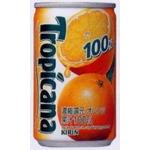 キリン トロピカーナ 100%フルーツ スイートオレンジ 160g缶 60本セット