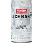 アサヒ WONDA アイスバー 190g缶 60本セット(2ケース)