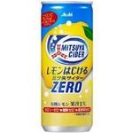 アサヒ レモンはじける三ツ矢サイダーゼロ 250ml缶 40本セット (2ケース)