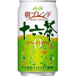 アサヒ 朝ブレンド 十六茶 340g缶 144本セット (6ケース)