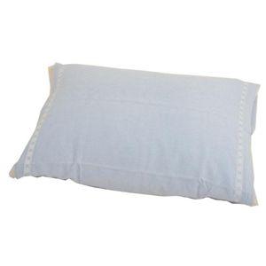 パイル枕カバー Mサイズ4枚セット Bセット/(テープ)ホワイト2枚、ブルー2枚