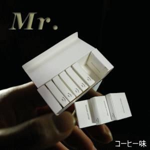 Mr.(ミスター)交換カートリッジ コーヒー味【10箱セット(50本入り)】