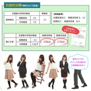 足臭い対策インソール(靴の中敷) 菌ピタ君(23.5〜24cm)×4足