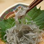 【お試し用】「生ちりめん」 極鮮冷凍!! 豊後水道大分県産 100g×2袋