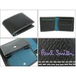 Paul Smith(ポールスミス) 小銭入れ付き 2つ折財布 ブラック PSP617-10