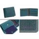 Paul Smith(ポールスミス) 小銭入れ付き 2つ折財布 ピッグスキン ターコイズ PSP617-37