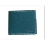 Paul Smith(ポールスミス) 小銭入れ付き 2つ折財布 ターコイズ PSP617-37