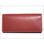ポールスミス ファスナー式小銭入れ付き 長財布 ピッグスキン レッド PSP619-20