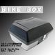大型リアボックス/バイクボックス 大容量50L フルフェイス2個分収納可/背もたれクッション/鍵付き ブラック(黒)の詳細ページへ