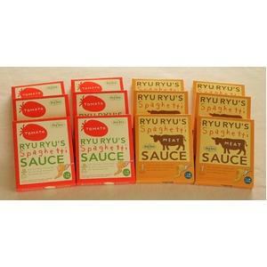 神戸リュリュのパスタソース(セットB)  トマト・ミート各6箱
